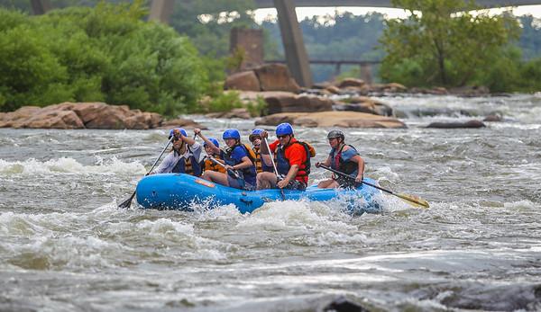 James River/Pipeline 7-22-13 River City Rafting