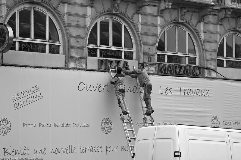 Paris. Quai Saint-Michel
