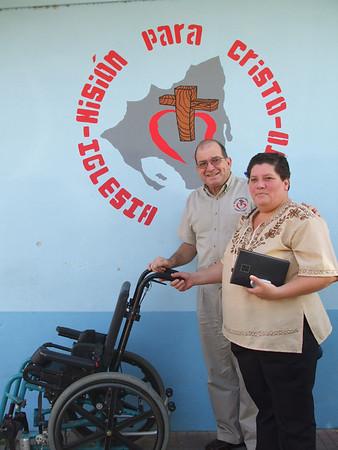 Wheel Chair to Yali