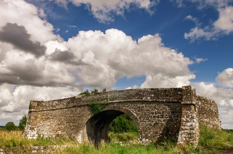 Bridge to nowhere, near Abbeyshrule