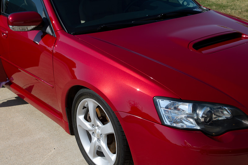 Car polished, oils removed with eraser and Opti-Guard applied.