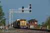 Union Pacific (on NS)<br /> Leipsic, Ohio<br /> May 16, 2014