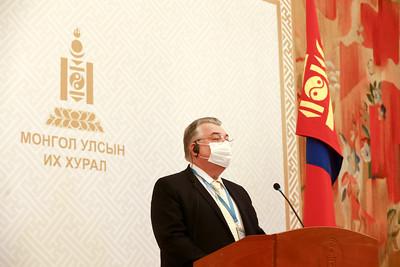 ДЭМБ-ын Монгол Улс дахь суурин төлөөлөгч Сергей Диордица мэдээлэл хийлээ