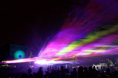 Laser Show at Cheshire Fall Festival