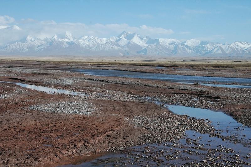 Mountain Streams - Peak Lenin, Kyrgyzstan