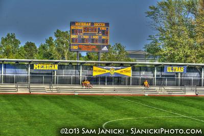 Best of UM Women's Soccer Vs Eastern Michigan 8-30-13