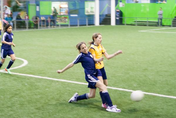 Springfield Soccer at Horsham Hurricanes 3-22-2014