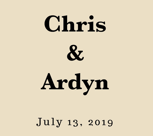 Wedding of Chris & Ardyn (Prints)