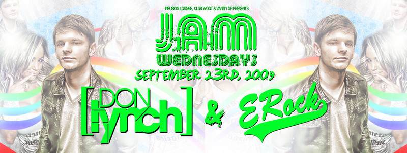 Jam Wednesdays @ Infusion Lounge SF 9.23.09