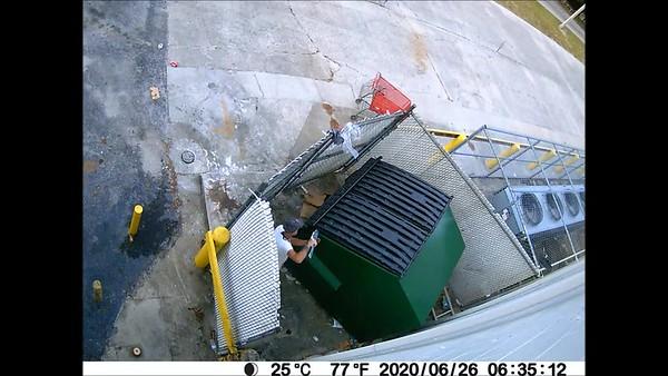 The Locking Dumpster Caper