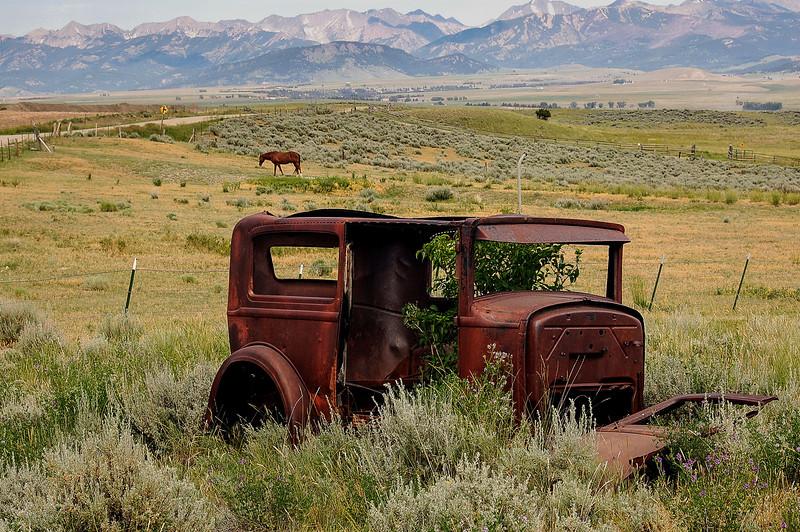 Abandoned Car, Montana