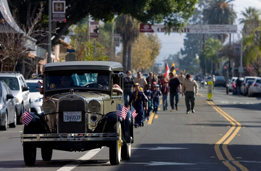 . The 75th annual Lincoln Pilgrimage in Redlands, CA., Saturday, February 8, 2014. (Photo by Jennifer Cappuccio Maher/Inland Valley Daily Bulletin)