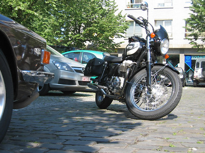 Testing the Triumph Bonneville T100