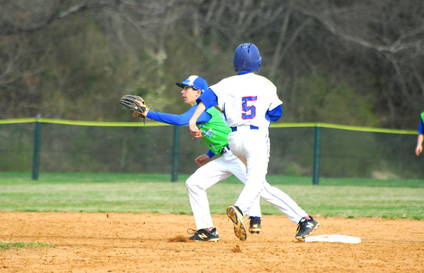Junior Prep Baseball vs Eagle Club - Mar 28