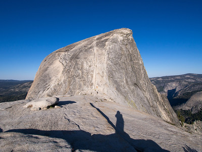 Tenaya Lake to Half Dome and Back - Yosemite NP 6.6-6.7.14