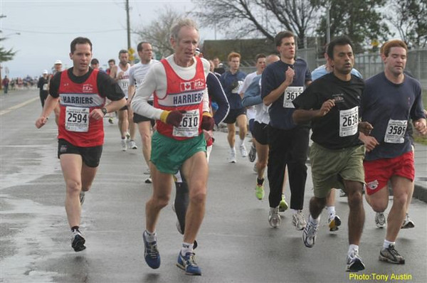 2004 Bazan Bay 5K - Dr. Happy, Rob Grant, won his age group for the fifth time in a row!