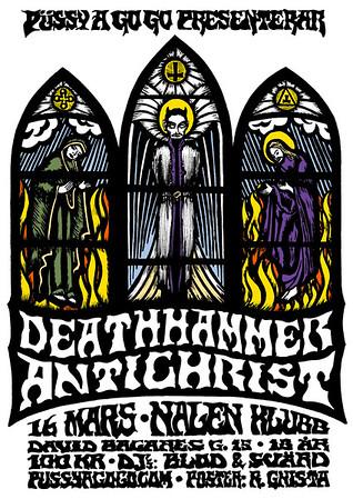 DEATHHAMMER - Püssy a Go Go, Nalen Klubb 16/3 2012