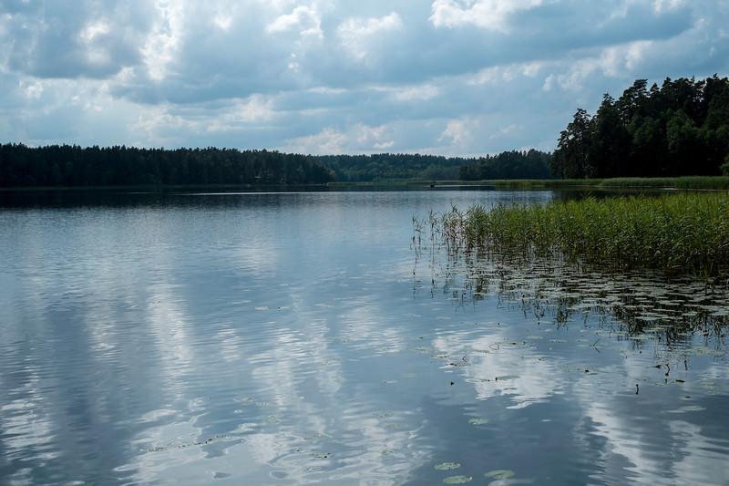 Lake Pomorze, Giby, Poland