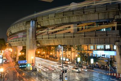 Bangkok Night shots, long exposures.