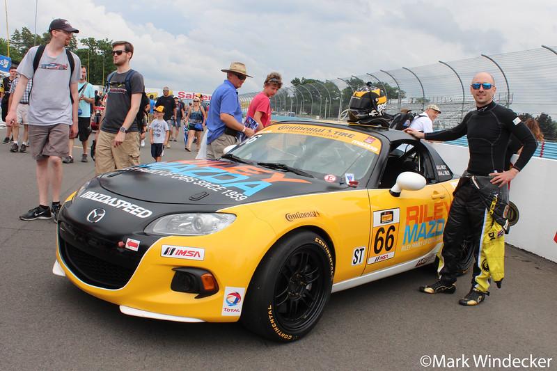 ST Riley Racing Mazda MX-5