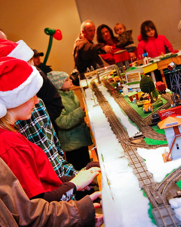 Holiday Model Train Display