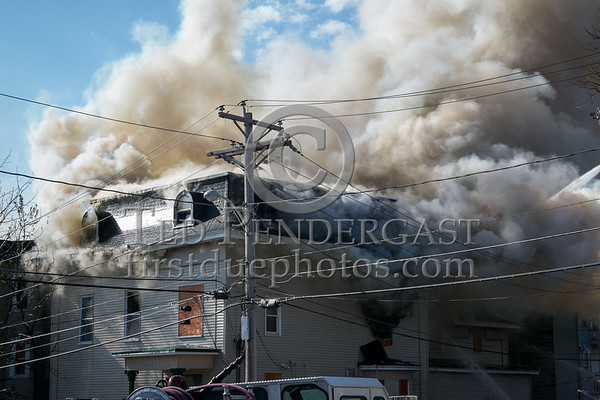Lowell MA - 5 Alarms at Chestnut St and Willow St