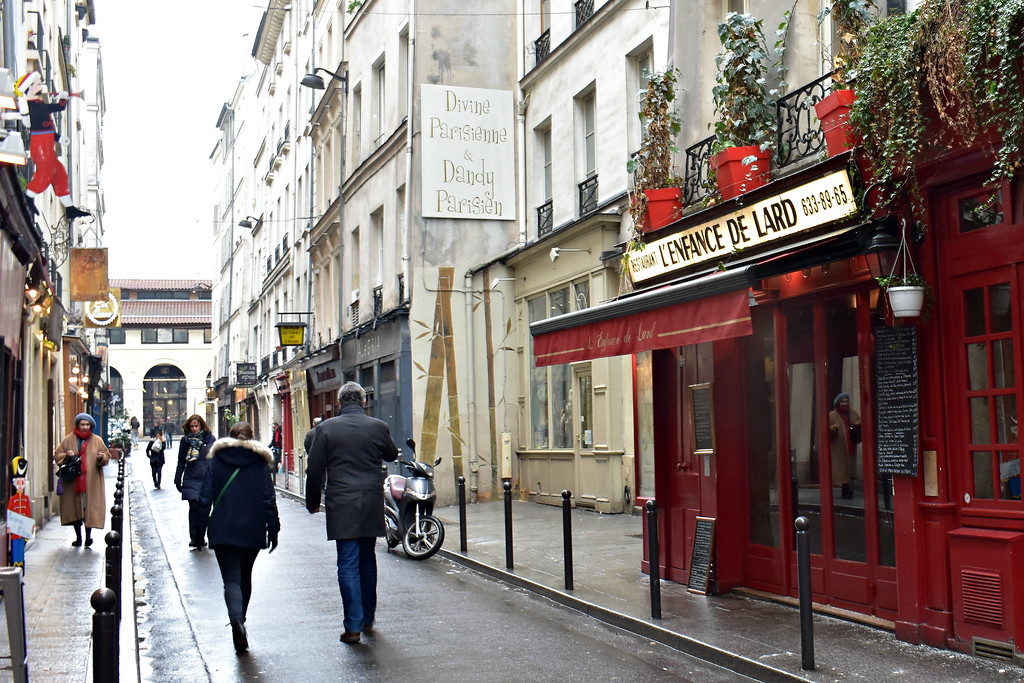 Latin Quarter in Paris, France