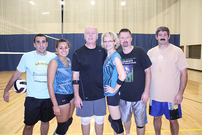 20091016 Team Zebra vs Ripple,Rocky CAROL STREAM PARK DISTRICT 2009 FALL VOLLEYBALL LEAGUE