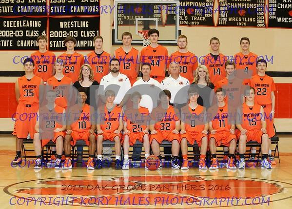 2015-2016 OGHS Boys Basketball