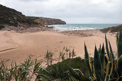 Praia do Zavial : on a cloudy day