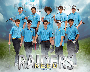 Reed Boys Golf 2019 - 2020
