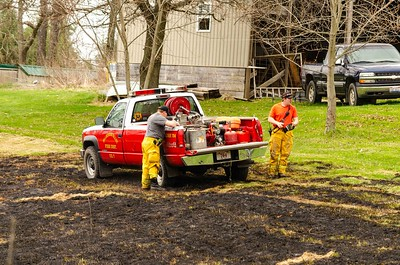 04-22-18 Walhonding Valley FD Grass Fire