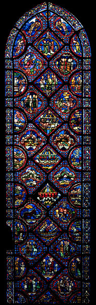 Chartres Cathedral, The Noah Window