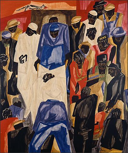 """Jacob Lawrence, """"Ambulance Call"""" (1948)"""