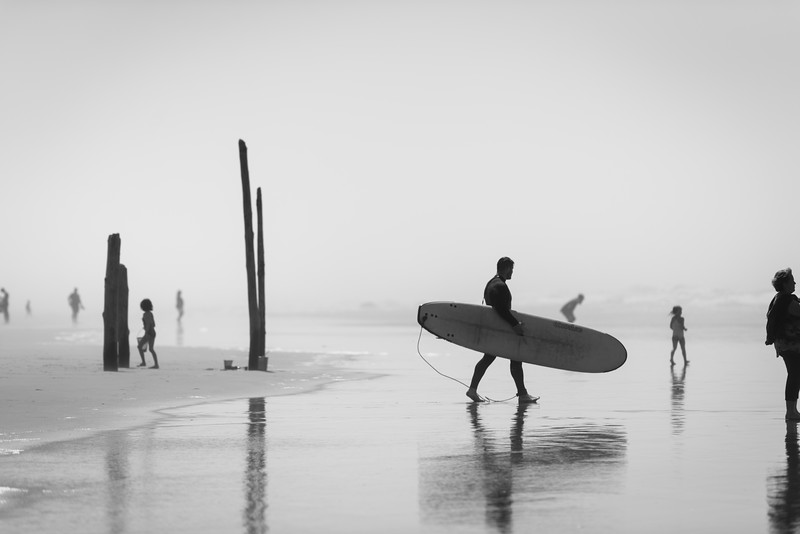 Cannon Beach Surfing