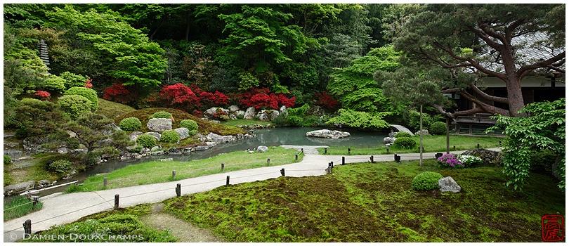 Shoren-in Temple garden