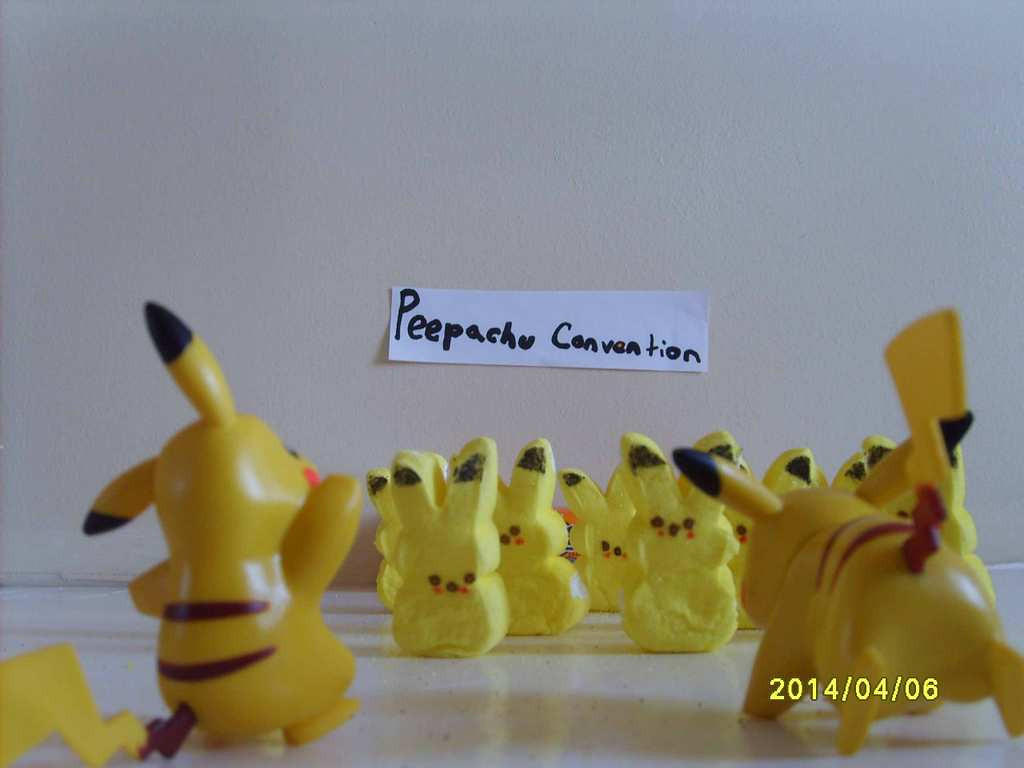 """. \""""Peepachu Convention,\"""" by Amy Bohland"""