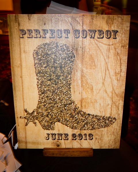Perfect Cowboy Sign