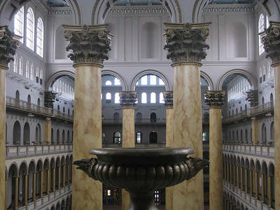 National Building Museum, Washington DC, June 2008