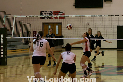 Volleyball: Park View at Heritage Varsity (Jeff Scudder)