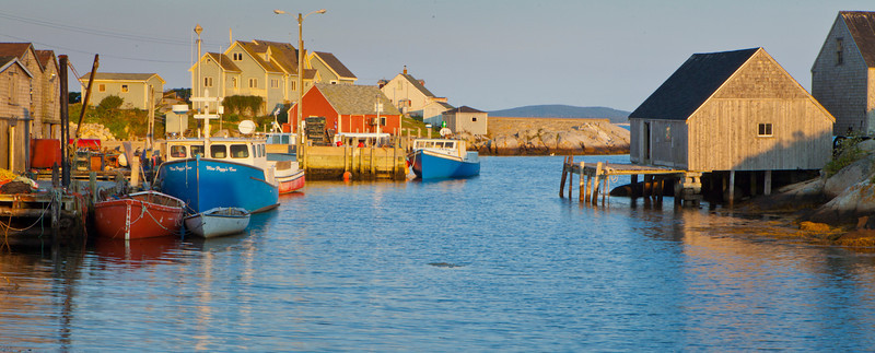 Peggy's Cove harbor, Nova Scotia