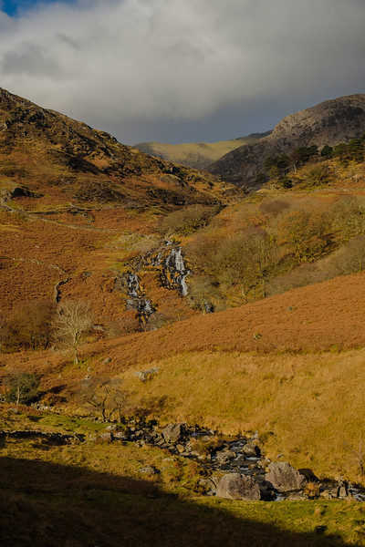Autumn in the UK, Mount Snowdon, sfrom the Watkin Path