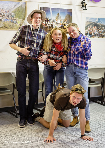 Farmers Henry, Grace, Ashlyn, and Will