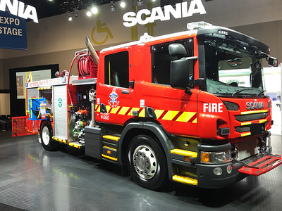 MFB Car 43 - Scania Pumper
