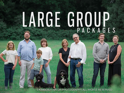 Booking- Extended Family Portrait Packages