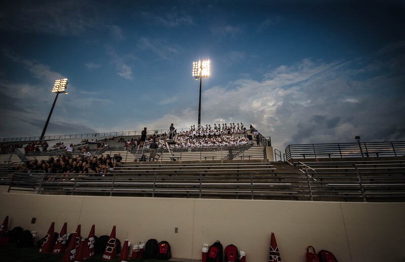 chaffin pregame band in stands.jpg