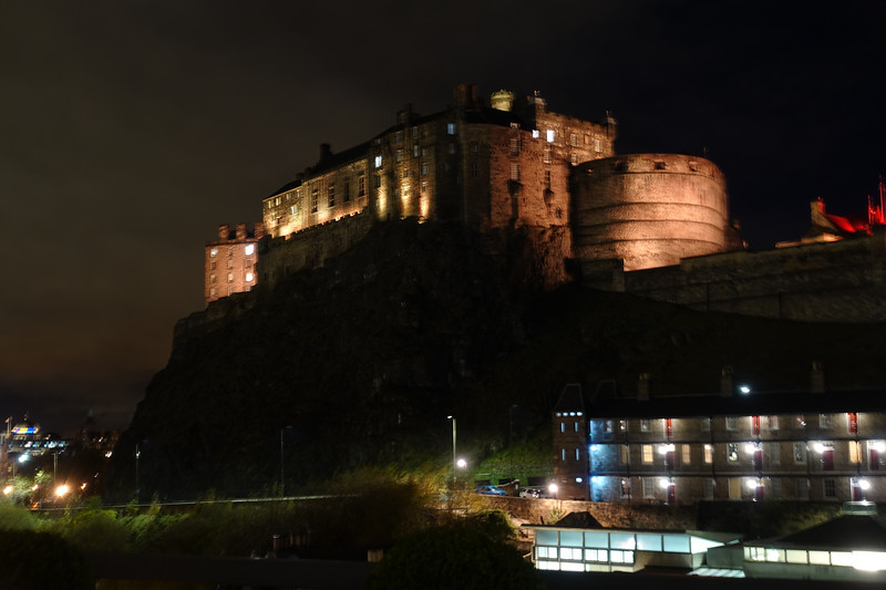 View of Edinburgh Castle from the Apex Grassmarket Hotel