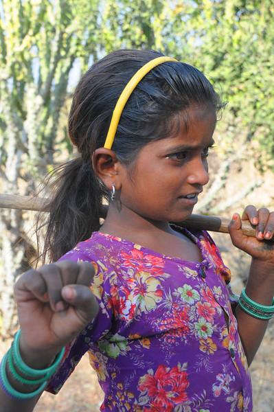 India Goatherder
