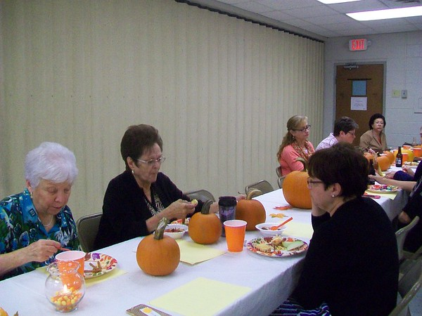 Ladies October Fellowship