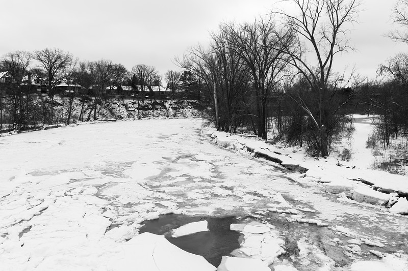 The Humber River Looking South From Old Mill Bridge